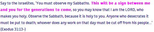 Exodus ch 31 verse 13