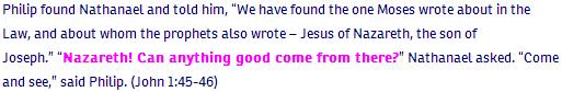 John ch 1 verse 45