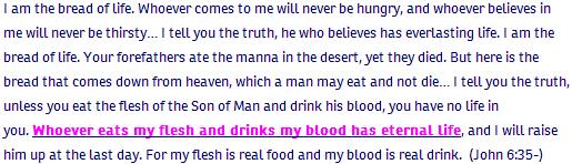 John ch 6 verse 35