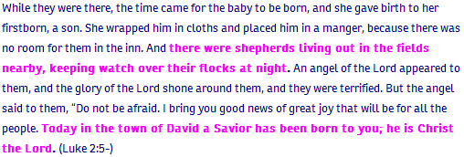 Luke ch 2 verse 5