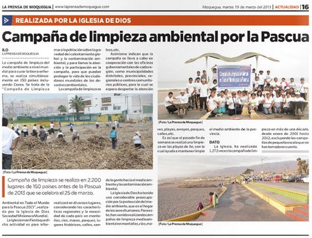 Clean-up Campaign for the Passover- Peru3