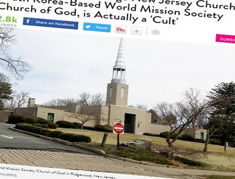 Incorrect reporting on People.com about the World Mission Society Church of God