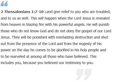 2 Thessalonians 1 7