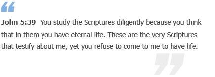John 5:39