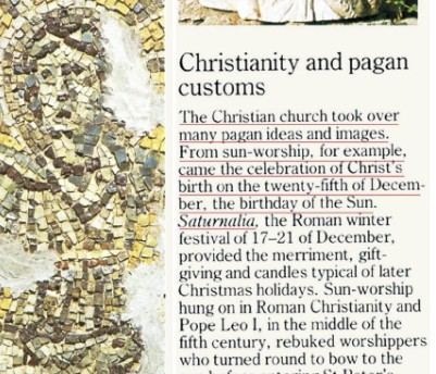 Origin Of Christmas.Christmas Is Not Based On The Bible Christmas Was The Date
