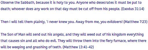 Exodus ch 31 verse 14