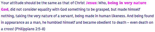 Philipians ch 2 verse 5-8