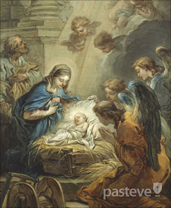 Nativity by Carle van Loo