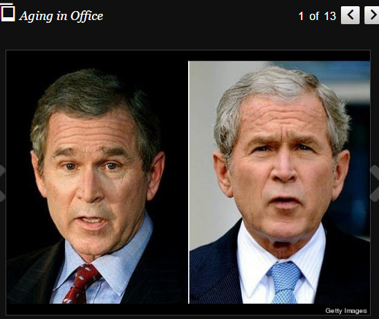 Aging in Office - Bush