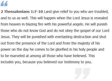2 Thessalonians 1 7