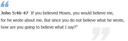 John 5:46-47