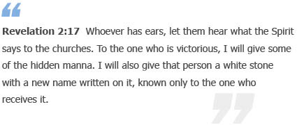 Revelation 2:17